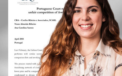 Portuguese Court ruling over unfair competition of low cost fragrances (april 2018)