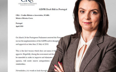 GDPR – Draft Bill is in the Parliament for approval