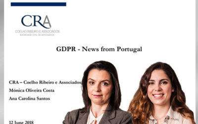 GDPR – News from Portugal