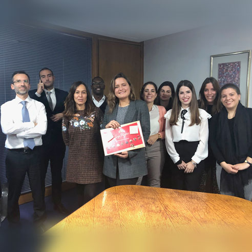 Galeuropa Program – Alba Munõz Gonzalez successfully concluded her internship in our law society