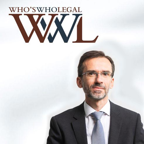 Nuno Almeida Ribeiro reconocido por la Who's Who Legal en Life Sciences Transactional 2019