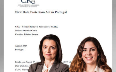 GDPR – New Data Protection Law in Portugal (August 2019)