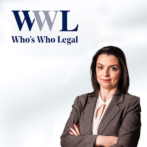 Who's Who Legal Data 2020 – Leading Individual