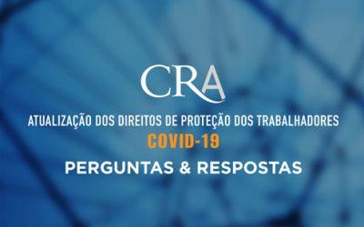 Atualização dos Direitos de Proteção dos Trabalhadores – COVID-19