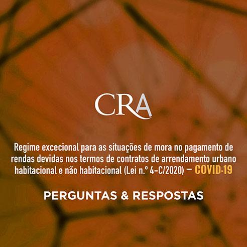 Regime excecional para as situações de mora no pagamento de rendas devidas nos termos de contratos de arrendamento urbano habitacional e não habitacional