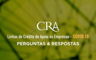 Linhas de Crédito de Apoio às Empresas – COVID-19