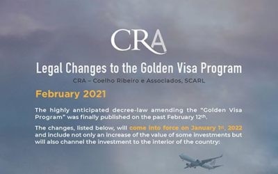Legal Changes to the Golden Visa Program – February 2021